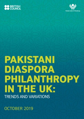 Pakistani Diaspora Philanthropy In the UK: Trends and variations