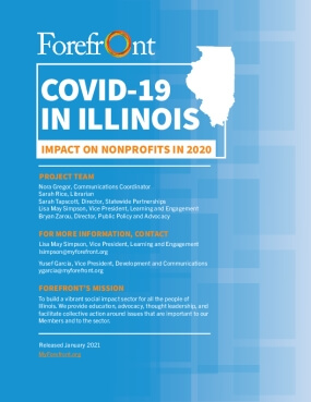 COVID-19 in Illinois: Impact on Nonprofits in 2020