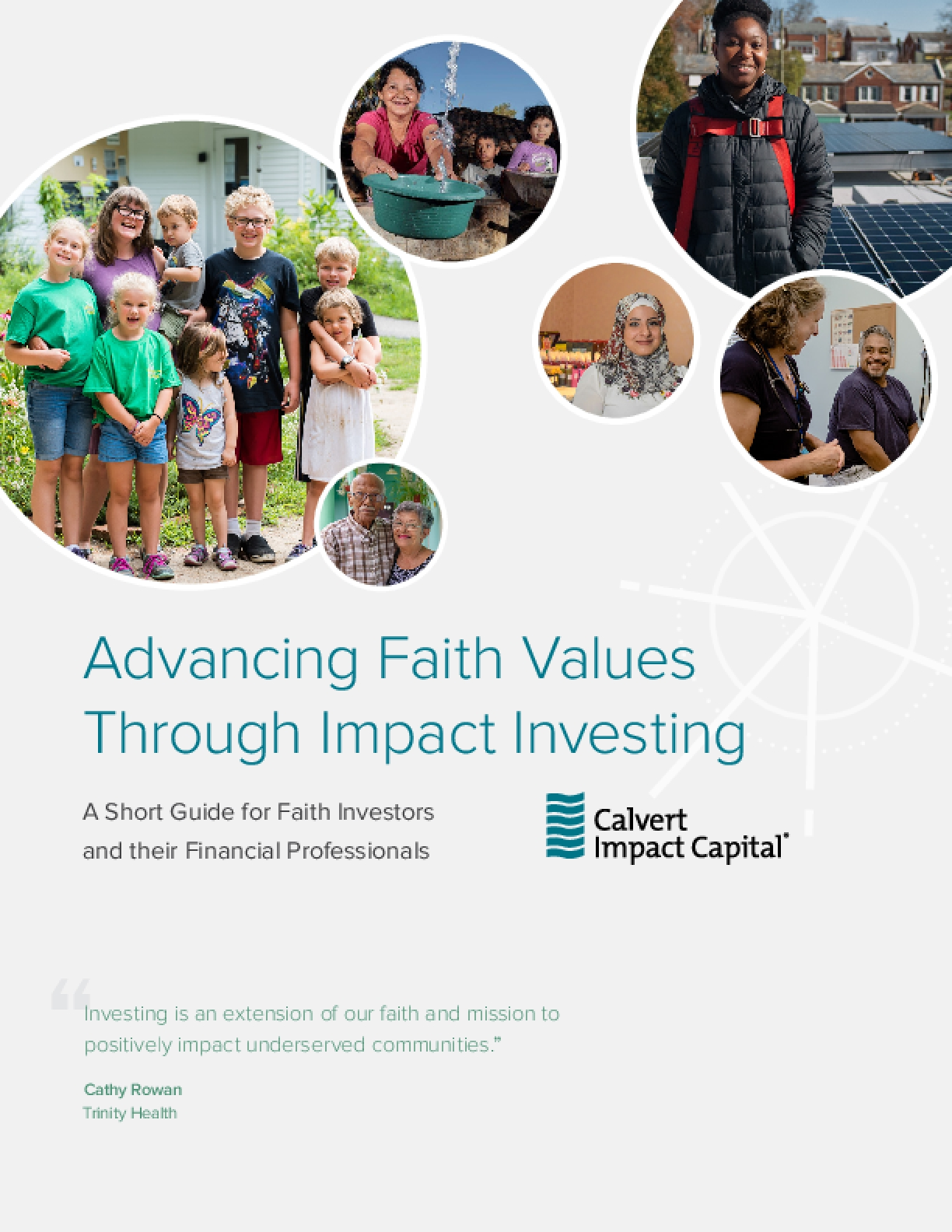 Advancing Faith Values Through Impact Investing: A Short Guide for Faith Investors and their Financial Professionals