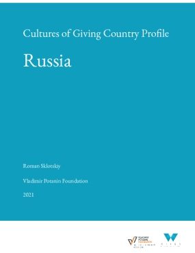 Cultures of Giving Country Profile: Russia